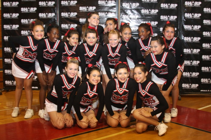 2009 2010 Central Cheer Squad